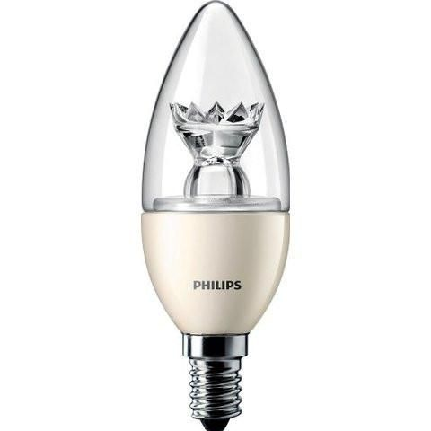 Led Candle 6w Philips Dimmable Master