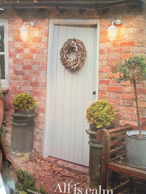 Farrow and ball hardwick white reno pinterest - Farrow and ball exterior masonry paint ideas ...