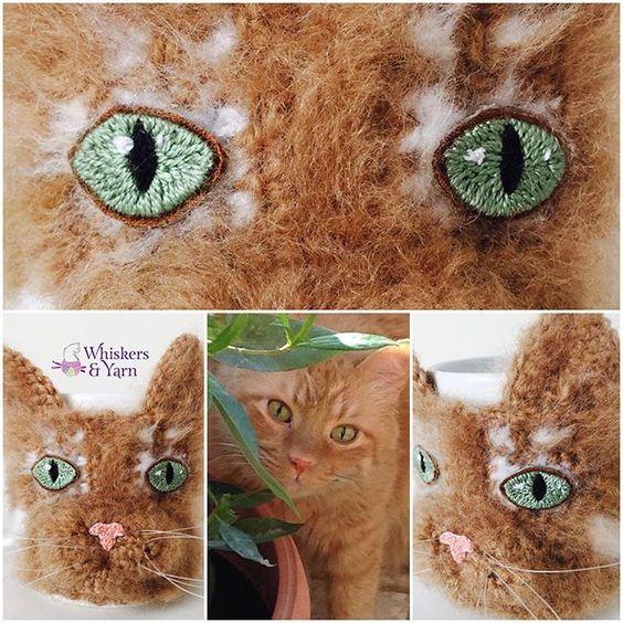 I completely forgot to post this. I made this for a follower who ordered this for her friends birthday.  Beautiful Jingles. I love ginger cats. #whiskersandyarn #cupcozy #mughug #coffecozy #Q8crochet #kuwaitcrochet #kuwait #q8 #kuwaithandmade #everythingkuwait #yarnaddict #crochetaddict #Q8 #q8sale #kuwaiti #q8instagram #kwt #mugcozy #crochetersofinstagram #instacrochet  #happyhooker #crochetersofinstagram #catsofinstagram #cupsleeve #crochetcozy