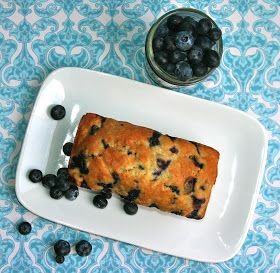 My Retro Kitchen: Blueberry Quick Bread