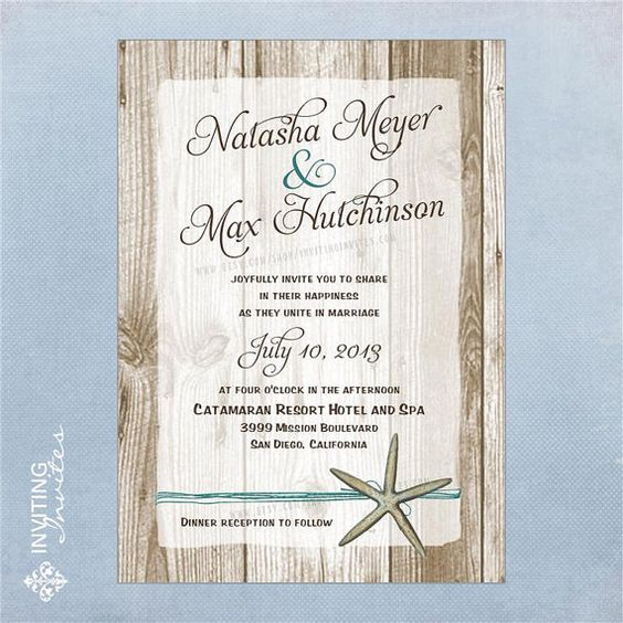 Hey, I found this really awesome Etsy listing at http://www.etsy.com/listing/89798871/starfish-wedding-invitation-destination