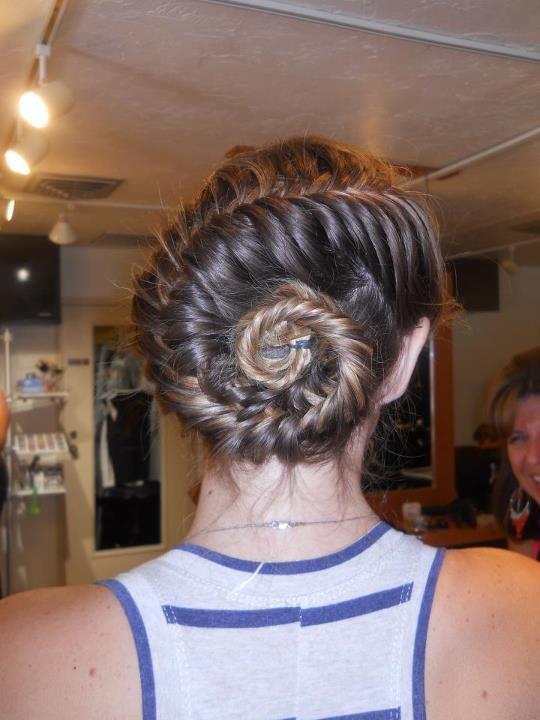 conch shell braid