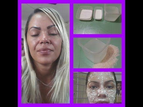 Agua De Arroz Para Hidratar A Pele Esfoliante Mascara Facial Pele