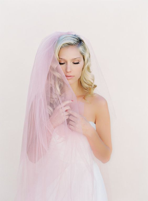 Simple Wedding Veil Single Layer Bridal Veil by veiled beauty Hand Crafted Bridal Veils and Accessories Designed by Kathy Banner - Made in the USA Shop Here: www.veiledbeauty.com  Follow Here: https://www.facebook.com/theveiledbeauty https://twitter.com/#!/theveiledbeauty  http://instagram.com/theveiledbeauty  Photo By Kurt Boomer