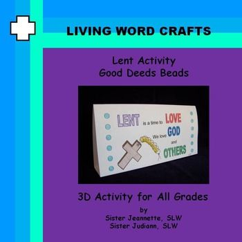 Images Of Love One Another Hymn Lent Good Deeds Beads Activity For All Gradesusing Good Deed Beads Will Help Make Students Aware