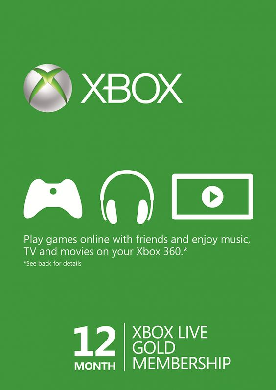 12 Month Xbox Live Gold Membership (Xbox One/360) $38.00 (cdkeys.com)