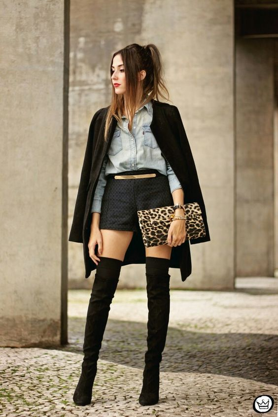 5e9e8814885 Street Style   Mais de 10 looks inspiradores para usar com botas ...