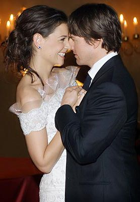 Tom Cruise and Katie Holmes at Their Wedding  Bracciano, Italy/ November 18/06