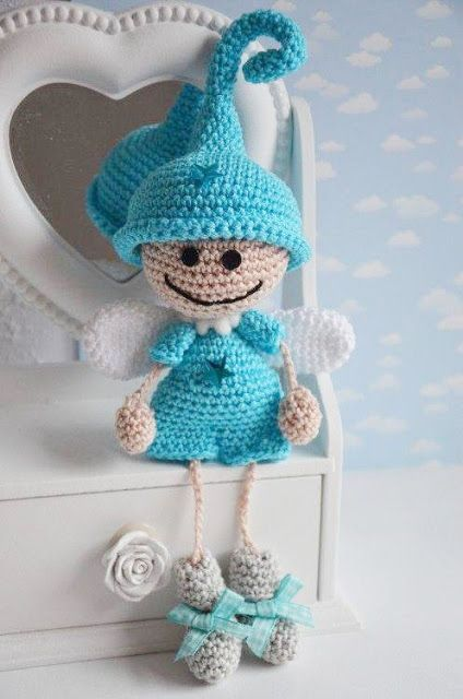 Tutorial Elfi Amigurumi : Amigurumi Little Elf Angel-Free Pattern (Amigurumi Free ...
