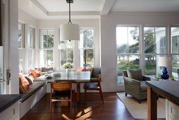 Sag Harbor - beach-style - Dining Room - Boston - Breese Architects