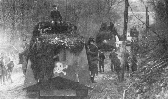 WW1 - German tanks
