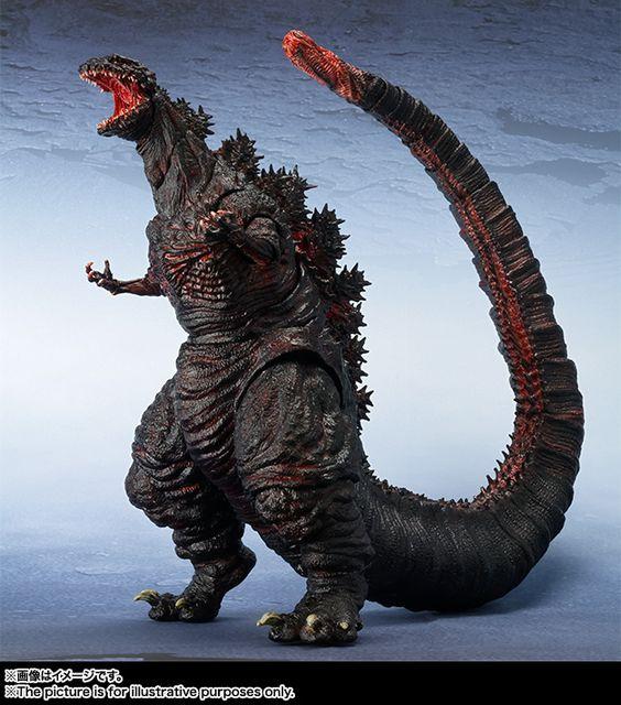 Sh Monsterarts Godzilla Resurgence Shin Godzilla Details And Images The Toyark News Godzilla Resurgence Godzilla Toys Godzilla Figures