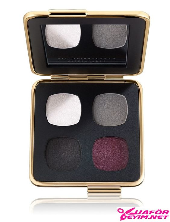 Eye Palette in Blanc Noir Gris Bordeaux - Far Palati Beyaz Siyah Gri Bordo