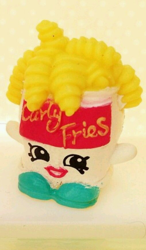 Shopkins Season 1 CURLY FRIES EXCLUSIVE LIMITED EDITION RARE SPECIAL FIGURE  LOT In Other | EBay | Lulu | Pinterest | Bolo Shopkins, Bolinhos E Projetos