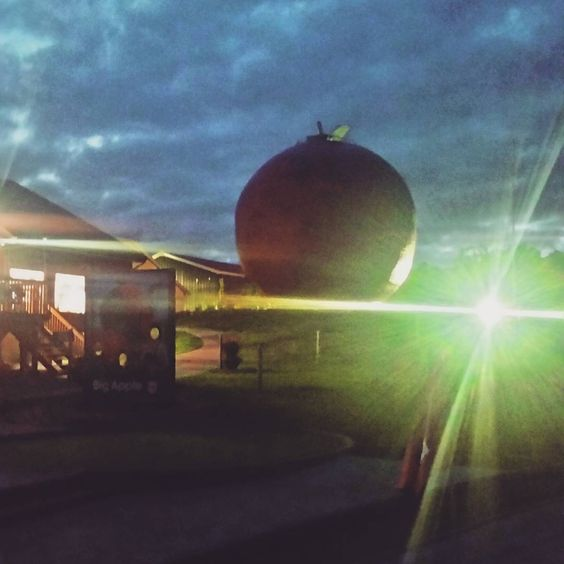 Québec has the big orange and Ontario has the big Apple!  #bigapplepiefactory #pie #apples #yummy #foodgram #food #roadtrip #roadtrippin #bigapple #orangejulep #artsy #photographygoneterrible #yolo #lategram #verylategram #tgif