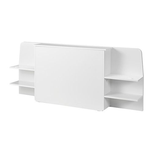 Askvoll Kopfteil Mit Ablage Weiss Ikea Deutschland Ikea Kopfteile Ablage