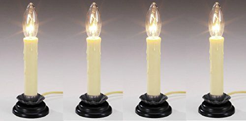 Darice Crafts 5201 77 6 Quot Electric Country Window Candle Lamp Quantity 4 Window Candles Candles Candle Lamp
