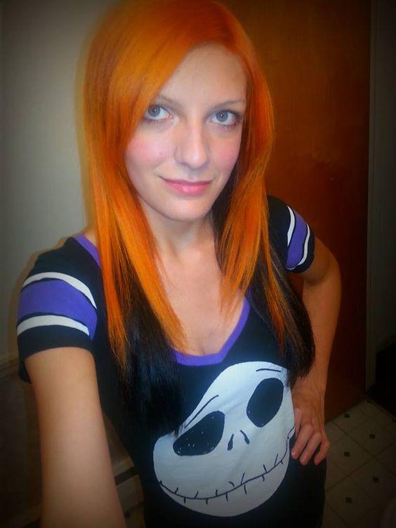 Splat Orange Fireballs Dyed Hair Splat Hair Dye Orange Hair