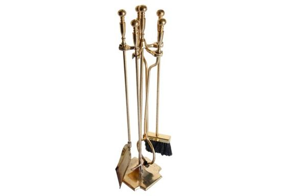 Brass Fireplace Tool Set, 5 Pcs https://www.onekingslane.com/shop/debra-hall-lifestyle