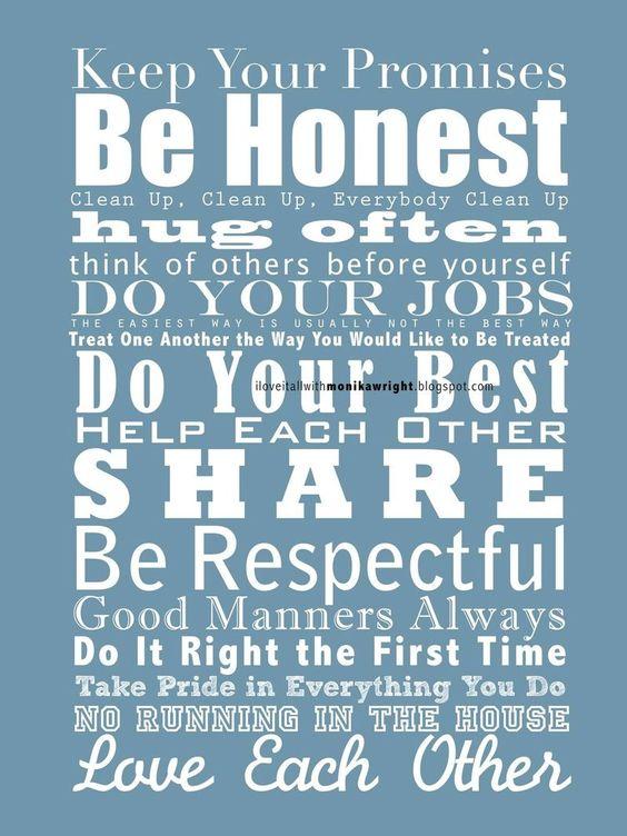 Be Honest!