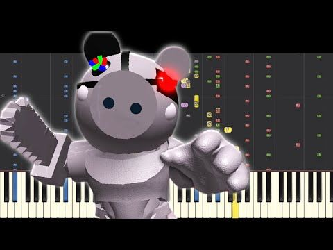 Robby Theme Song Piano Remix Piggy Roblox Youtube Theme Song Roblox Piggy