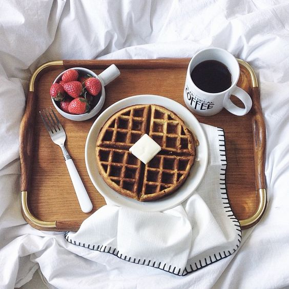 Breakfast in bed // thanks jazy ..love it...hoping for a better day...i will fight this battle ...
