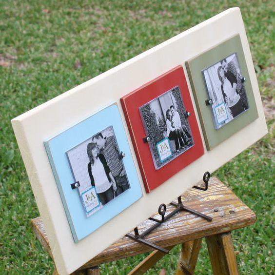 Triple 4x4 wood frame