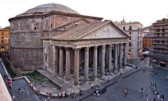 Pantheon - Rome, IT - c.120 - Ancient Roman.