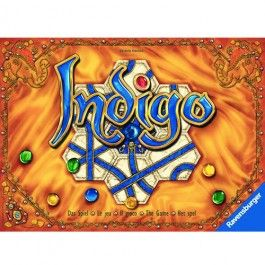 Indigo Family Game by Ravensburger. Most beautiful game board ever!