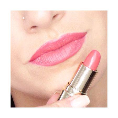 Tequila Sunrise by Gerard Cosmetics - #tequilasunrise #gerardcosmetics #lipstick #pinklips #graytracy - Bellashoot.com (iPhone, iPad & Web)