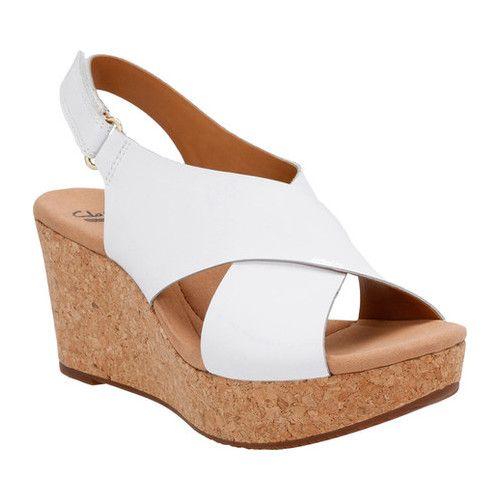 Clarks shoes women, Wedge sandals