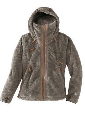 Women's Kuhl Flight Fleece Jacket: Luxuriously Plush Fleece Hoodie ...