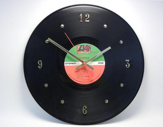 LED ZEPPELIN Vinyl Record Wall Clock