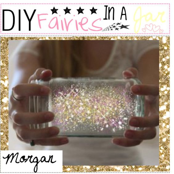 """""""DiY: Fairies in a Jar ♥"""" by all-for-me on Polyvore"""
