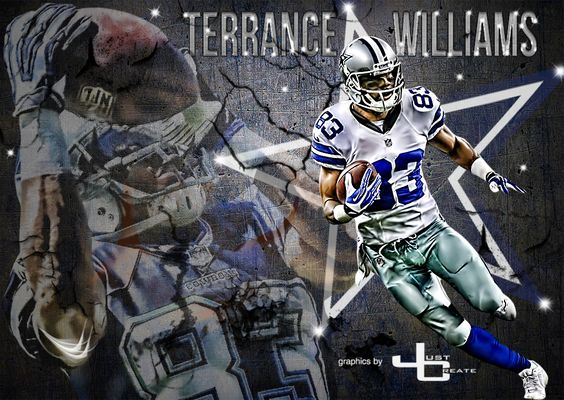 Terrance Williams - graphics by justcreate Sports Edits | Dallas ...