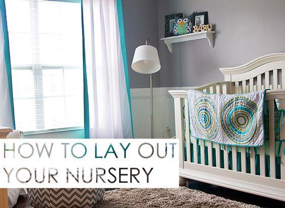 How to Layout a Nursery - great tips here from projectnursery.com!: Gray Owl, Nursery Ideas, Baby Room, Future Baby, Baby Nursery, Baby Rooms, Baby Boy