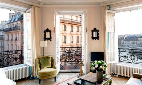 Not totally a bedroom, but c'mon. It's Paris.