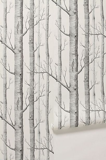 Woods Wallpaper @antropologie