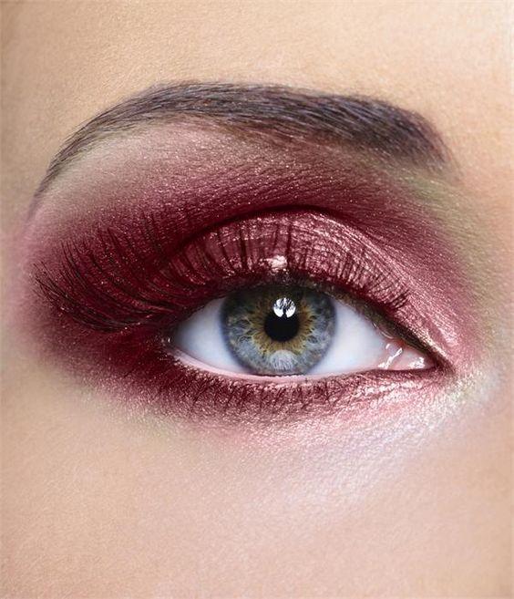Wine inspired eyes!