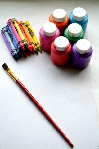 Matériaux verser la cire craqué résistant art