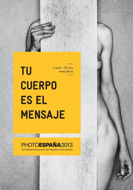 Affiche du festival, PHotoEspaña .
