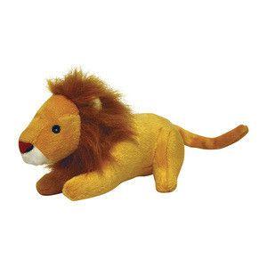 MIGHTY TUFFY JUNIOR SAFARI LION LINUS JR DOG TOY