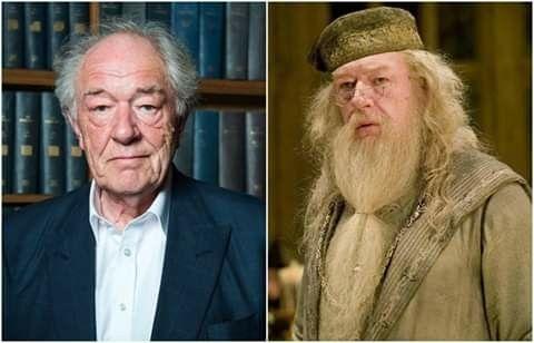 Happy Birthday Sir Michael Gambon Who Portrayed Albus Dumbledore From Prisoner Of Azkaban Deathly Hallows Michael Gambon Harry Potter Actors Albus Dumbledore
