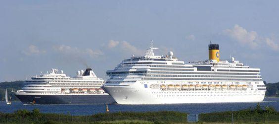 Die Costa-Pacifica nimmt Kreuzfahrer in Kiel am Ostseekai in Empfang. Dank der zentral gelegenen Port Parking Flächen, erreichen Sie das Terminal zu Fuß in wenigen Minuten.
