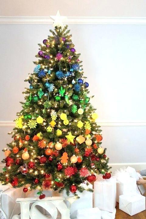 Christmas Tree Decorations Ebay Please Follow Me For More Inspiration Christmas Tree Decorations Creative Christmas Trees Cool Christmas Trees Colorful Christmas Tree