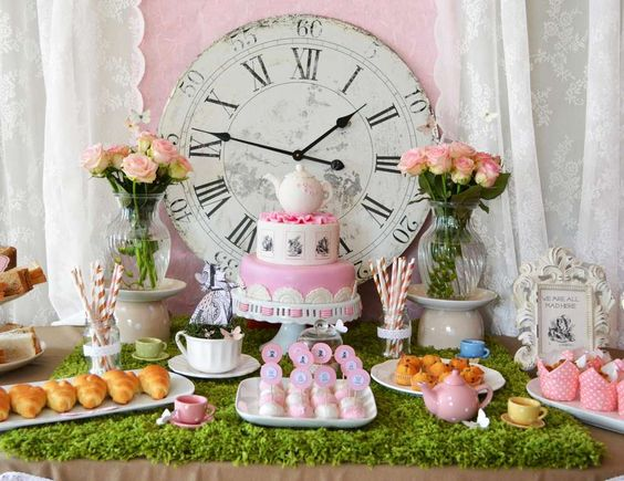 Sweet Table Baby Shower   Alice Au Pays Des Merveilles #sweettable  #aliceaupaysdesmerveilles Quand Julie Patisse | Quand Juu0027lie Pâtisse |  Pinterest | Alice ...