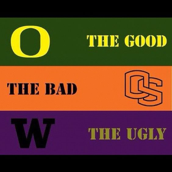 """""""OREGON DUCKS ARE SERIOUS ABOUT THEIR FOOTBALL RIVALS SELF-ESTEEM."""""""