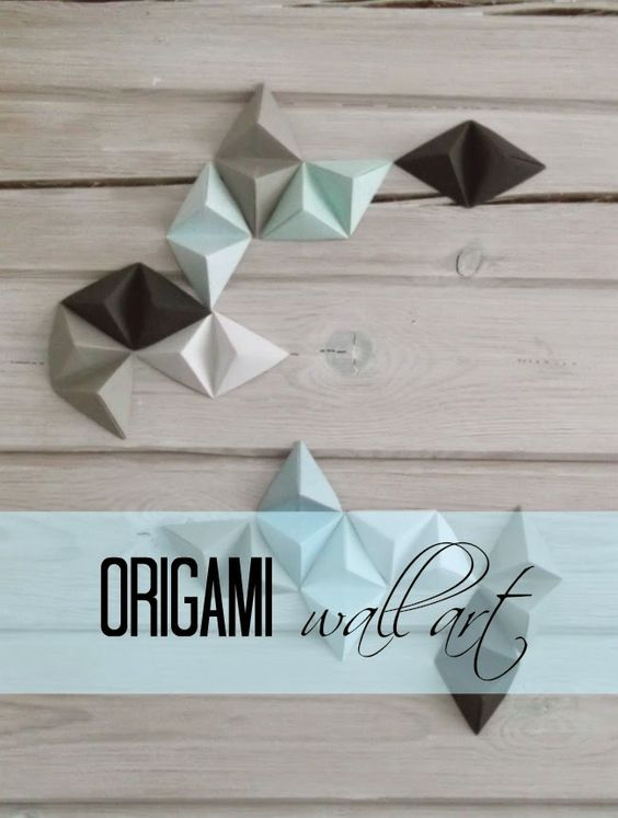 origami wall art origami and wall art on pinterest