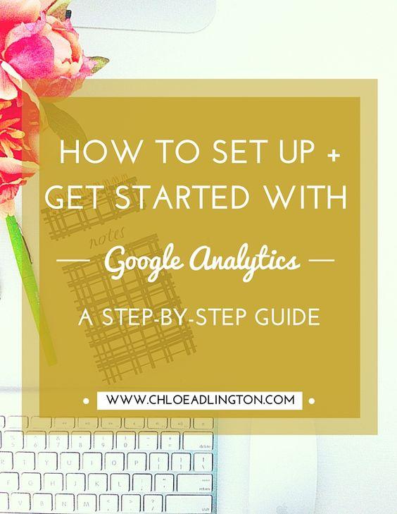 How to get started with Google Analytics including how to install Google Analytics on your website or blog and start interpreting the data - www.chloeadlington.com/?utm_content=bufferac698&utm_medium=social&utm_source=pinterest.com&utm_campaign=buffer