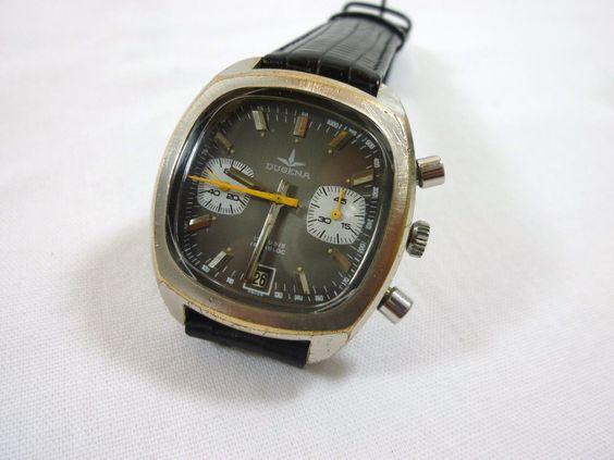 "DUGENA Chronograph Valjoux 7734 "" Monaco Style"" Very Rare VINTAGE | eBay"